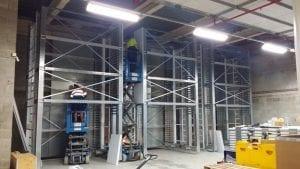 Storage Carousels installation