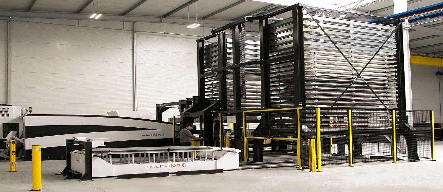 Automated sheet metal storage